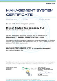 FSSC 22000 Certificering voor Voedselveiligheid