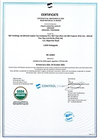 Certificeringen voor de USDA, AMS 7 CFR Part 205, National Organic Program
