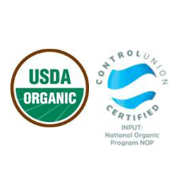Organic Certification to USDA National Organic Program (NOP)