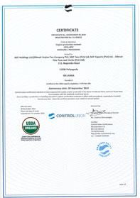 Certificeringen voor de USDA, AMS 7 CFR Part 205, National Organic Program